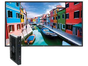 "NEC P463-PC2 46"" High-Performance LED-backlit Commercial-Grade Display with Integrated OPS PC"