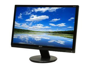 "Acer P205H CBMD Black 20"" 5ms Widescreen LCD Monitor Built-in Speakers"