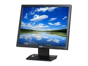 "Acer V173 DJObm Black 17"" 5ms LCD Monitor Built-in Speakers"
