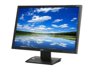 "Acer V223WLAJObmd Black 22"" 5ms Widescreen LED Monitor Built-in Speakers"