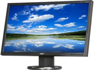 "Acer V233HLBJObd Black 23"" 5ms Widescreen LED Backlight LCD Monitor"