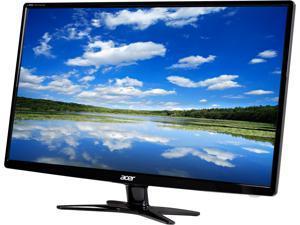 """Acer G6 G276HLGbd Black 27"""" 6ms Widescreen LED Backlight Slim Bezel Monitor 300 cd/m2 3000:1"""