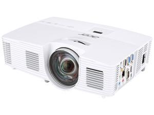 Acer S1283HNE 1024 x 768 3,100 ANSI Lumens (Standard), 2,480 ANSI Lumens (ECO) DLP Projector 13,000:1 RJ45