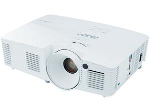 Acer X117H Home Theater 3D DLP Projector, 800 x 600, 20000:1, 3600 ANSI Lumens, HDMI&D-Sub&USB, Built-in Speaker