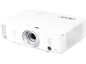 "Acer H6502BD Projector, 3400 Lumens, 20000:1 Contrast Ratio, 28""-300"" Image Size, HDMI, USB, VGA, Built-in Speaker"