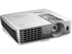 "BenQ HT1075 Full HD 3D Wireless Projector, 2200 ANSI Lumens, 10000:1 Contrast Ratio, 40""-235"" Image Size, USB"