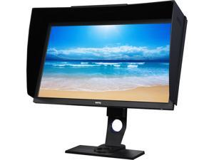 "BenQ SW2700PT Photography 27"" QHD 2560x1440 IPS Monitor, 5ms(GTG), DCR 20,000,000:1 (1000:1), 99% Adobe RGB, Hardware Calibration, Shading Hood, Palette Master"