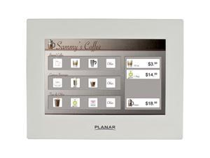 "PLANAR LT1201 White 12"" USB Surface Capacitive Touchscreen Monitor"