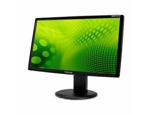 "TOSHIBA PA3769U-1LCH Black 23.6"" 5ms Height,Swivel & Tilt Adjustable Full HD HDMI Widescreen LCD Monitor w/Speakers"