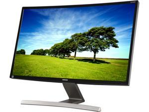 """Samsung S27D590C Black 27"""" Curved LED Monitor 4ms (GTG) HDMI LED-Lit VA Panel 350 cd/m2 Dual Stereo Speakers w/ Game Mode function"""