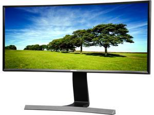 "SAMSUNG S29E790C Glossy Black / Metallic 29"" Curved WQHD Cinema Wide 4ms (GTG) HDMI LCD / LED Monitor 300 cd/m2 DCR Mega Infinity (3000:1) Built-in Speakers, High Adjustable"
