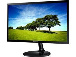 "2 x SAMSUNG 350 Series S19F350 Glossy Black 18.5"" 14ms Widescreen LED Backlight LCD Monitor Combo"