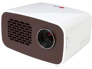 LG Minibeam PH300 1280 x 720 WXGA 300 ANSI Lumens, Embedded Battery, Built-in Digital Tuner, HDMI/MHL Input, Portable LED Projector