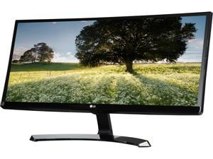 "LG 29UM68-P Black 29"" FreeSync IPS LED Monitor 2560 x 1080 FHD 21:9 UltraWide 5ms 75HZ On-Screen Control with 4-way Screen Split, VESA Mountable, HDMI DisplayPort Connectors"