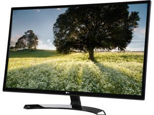 "LG 32MP58HQ-P Black 31.5"" FHD IPS Widescreen LED Backlight Monitor 5ms 1920 x 1080 at 60 Hz, On Screen Control w/ Screen Split& Anti-Glare with 3H Hardness HDMI/D-Sub 250 cd/m2 1000:1"