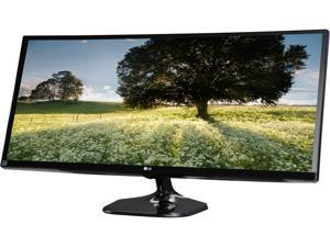 "LG 34UM58-P Black 34"" 5ms (GTG) HDMI Widescreen LED Backlight Monitors - LCD Flat Panel"