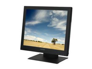 "GVISION P17BH-AB-459G Black 17"" 5-wire Resistive LCD Touchscreen Monitor Built-in Speakers"