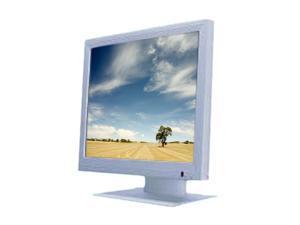 "GVISION MA15BX-AE-4000 White 15"" 16ms MA15BXseries LCD Monitor"