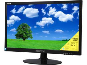 "SCEPTRE E225W-1920 Black 22"" 5ms HDMI Widescreen LED Backlight  LCD Monitor"