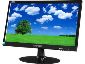 "SCEPTRE E205W-1600 Black 20"" 5ms HDMI Widescreen LED Backlight LCD Monitor"