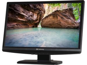 "Gateway FHX2201QV bmd Black 21.5"" 5ms Widescreen LCD Monitor Built-in Speakers"