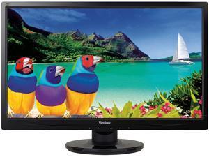 "ViewSonic VA2746m-LED Black 27"" 3.4ms  Widescreen LED Backlight LCD Monitor300 cd/m2 DC 20,000,000:1 Built-in Speakers - ..."