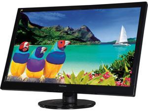 "ViewSonic VA2746m-LED Black 27"" 3ms Full HD 1080P TN Widescreen LED Backlit Monitor, 1200:1, 300cd/m2, VGA&DVI-D, Built-in Speakers"