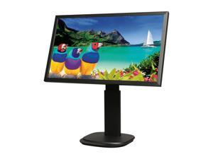 "ViewSonic VG2439M-LED Black 24"" 5ms 1080p Full HD  Widescreen LED Backlight LCD Monitor 300 cd/m2 DC 20,000,000:1 Built-in Speakers, Height Pivot Swivel adjustable"