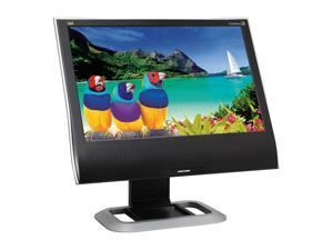 "ViewSonic Graphic Series VG2030WM Black 20"" 5ms Widescreen Off Lease LCD Monitor, B Grade Built-in Speakers"