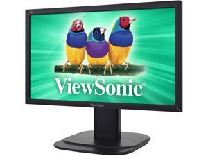 "ViewSonic VG2039m-LED Black 20"" 5ms Widescreen LED Backlight Height, Swivel, Tilt LCD Monitor"