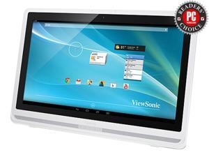 """ViewSonic VSD241-WTA-US0 24"""" USB Dual Point Optical Touch Technology Smart display ( All-in-One) Built-in Speakers"""