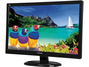 "ViewSonic VA2465SMH 24"" Full HD 1080P SuperClear Wide-angle Viewing Monitor, 3000:1, 250cd/m2, HDMI&VGA, Built-in Internal Speaker, VESA Mountable"
