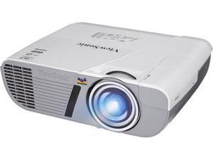ViewSonic PJD6552LWS WXGA (1280 x 800) 3200 lm DMD DLP LightStream WXGA Networkable Short Throw Projector