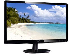"PHILIPS 190V4LSB Black 19"" 5ms Widescreen LED Backlight LCD Monitor"