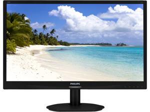 "PHILIPS 220S4LSB Black 22"" 5ms Widescreen LED Backlight LCD Monitor"