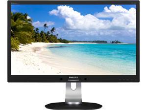 "PHILIPS 231P4QPYEB/27 Black 23"" powersensor Widescreen LED Backlight LCD Monitor IPS 250 cd/m2 20,000,000 :1 (1,000:1) Built-in Speakers"