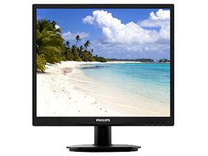 "PHILIPS 19S4LSB5 Black 19"" 5ms LED Backlight LCD Monitor"