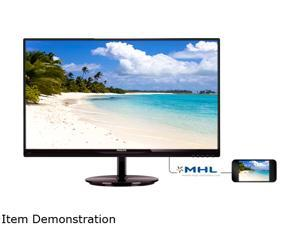 "PHILIPS 274E5QHSB/00 27"" 5ms LCD Monitor"