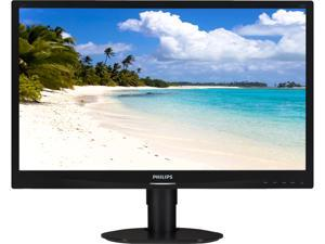 "PHILIPS 241S4LCB/00 Black 24"" LCD Monitor"