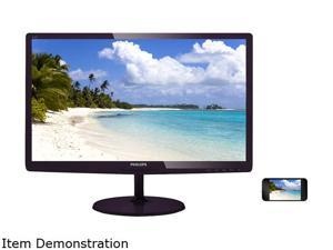 "Philips E-line 247E6BDAD 23.6"" LED LCD Monitor - 16:9 - 2 ms"