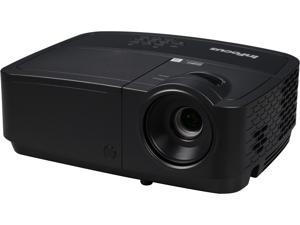 InFocus IN112x 800 x 600 SVGA 3200 Lumens, Contrast Ratio 15,000:1, HDMI Input, 2W Speaker, Instant on/off, DLP 3D Ready Projector