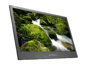 "lenovo ThinkVision LT1421 (1452DB6) Raven Black 14"" 8ms Widescreen LED Backlight LCD Monitor w/protective case"