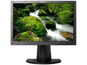 """lenovo LT1953 Black 19"""" 5ms LED Backlight LCD Monitor"""