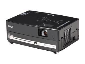Epson MovieMate 85HD 720P 1280x800 2500 Lumens Home Theater 3LCD Portable Projector w/ DVD & Music Player Combo
