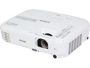 Epson Silver Edition 500 Home Theatre SVGA 800x600 2600 Lumens 4 Game Color Modes HDMI 3LCD Projector