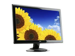 "AOC 2036S Black 20"" 5ms Widescreen LCD Monitor"