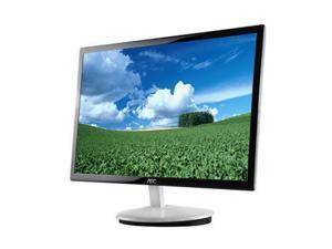 """AOC e2343F Black & White 23"""" 5ms Widescreen LED Backlight 16:9 Razor LCD Monitor"""