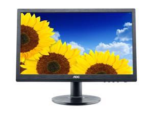 "AOC e2260Swda Black 21.5"" 5ms Widescreen LED Backlight LCD Monitor Built-in Speakers"