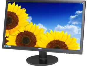 "AOC E2460SD Black 24"" 5ms Widescreen LED Backlight LCD Monitor"