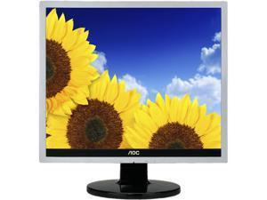 "AOC E719SDA Black 17"" 5ms LED Backlight LCD Monitor"